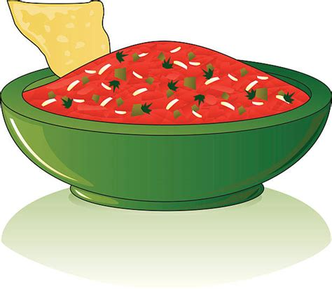 salsa clipart chili clipart bowl salsa pencil and in color chili