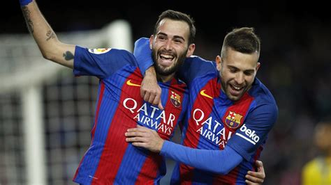 barcelona players fc barcelona players send messages of support for aleix