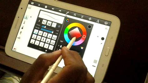 Galaxy Note 8 Sketches by Class 2 Drawing With The Samsung Galaxy Note