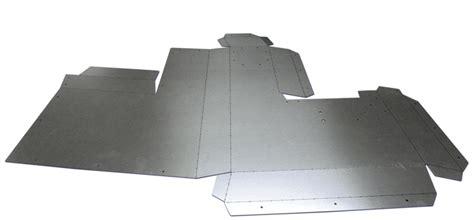 Industrial Origami - quadror metal origami
