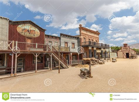 Country Style House Plans Far West Stock Image Image Of Scene Adventure American