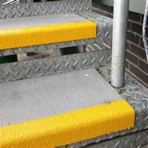 Non Slip Coating For Wood Stairs by Anti Slip Solutions For Checker Plate Stairs Amp Steps