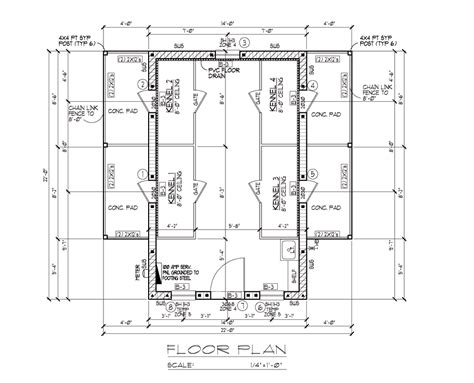 kennel floor plans dog boarding kennel building plans quotes
