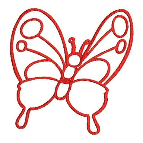 embroidery design outline butterfly outline embroidery designs