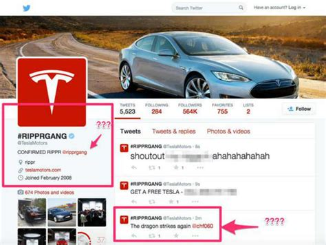Tesla Hacked Telsa S Account Website Temporarily Taken By