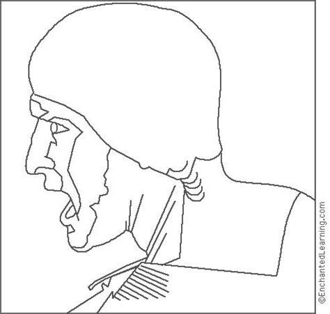 leonardo da vinci soldier coloring page