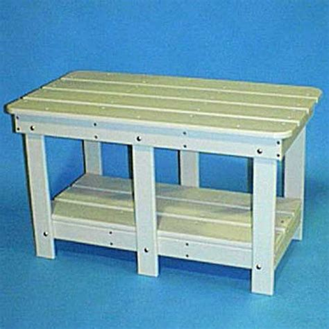 tailwind recycled plastic coffee table ad 203 white
