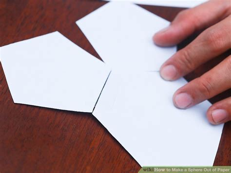 How To Make A Paper Sphere - 3 ways to make a sphere out of paper wikihow