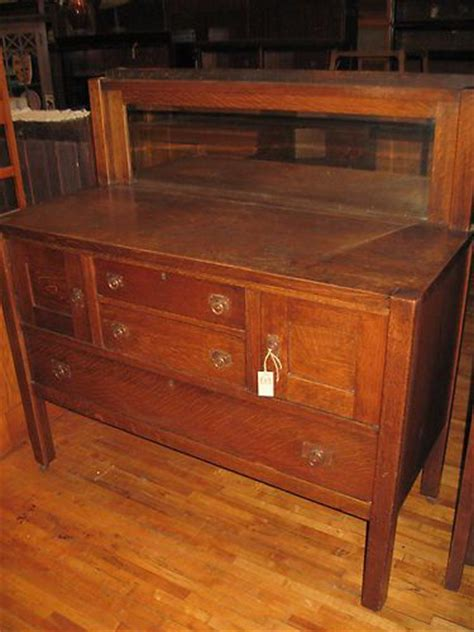 mission oak buffet mission oak sideboard buffet arts crafts grand rapids w