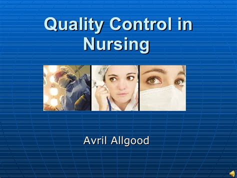 quality in nursing