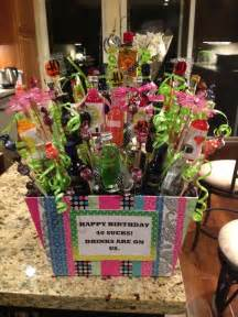 25 best ideas about mini alcohol bouquet on pinterest 21 birthday gifts mini alcohol bottles
