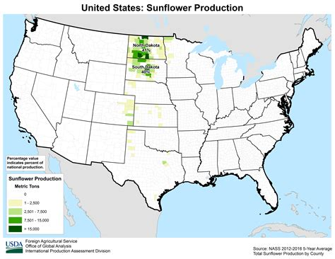united states crop production maps