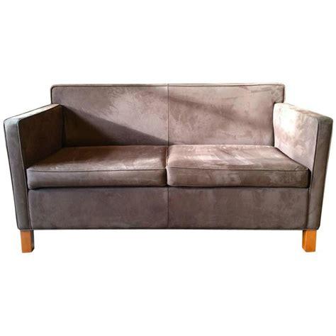 knoll krefeld sofa knoll studio krefeld two seat sofa settee ludwig mies