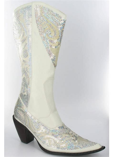 wedding cowboy boots david s bridal wedding bridesmaid shoes high heel cowboy