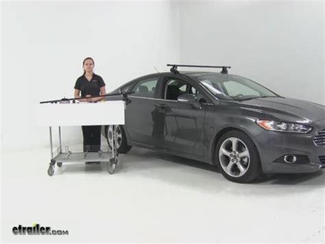 Ford Fusion Roof Rack custom fit kit for inno xs200 xs250 and insu k5 roof