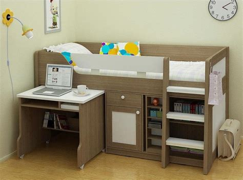 childrens beds midsleeper bed with desk and storage
