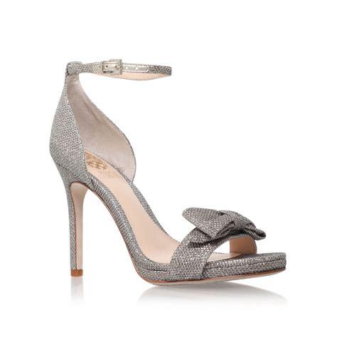 vince camuto high heels vince camuto rizma high heel sandals in metallic lyst
