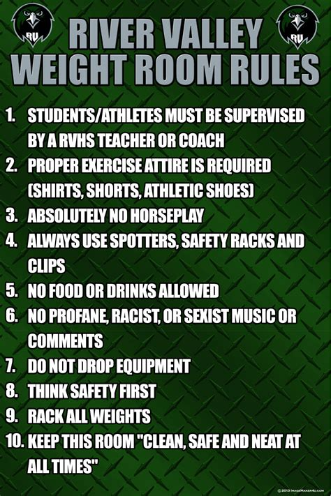 safety in the weight room hssc 17 weightroom organization safety and policies and procedures high school strength coach