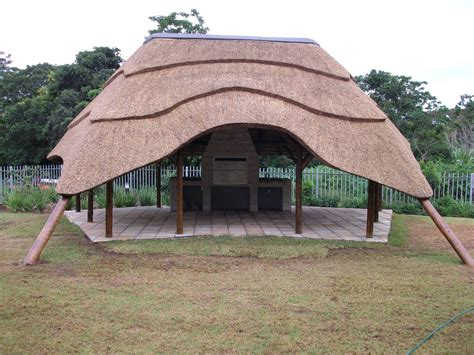 thatch lapa braai outdoor entertainment area designs