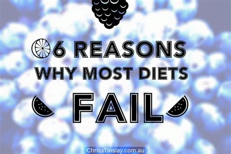 Why I Do This 6 Reasons by 6 Reasons Why Most Diets Fail Chrisstinslay