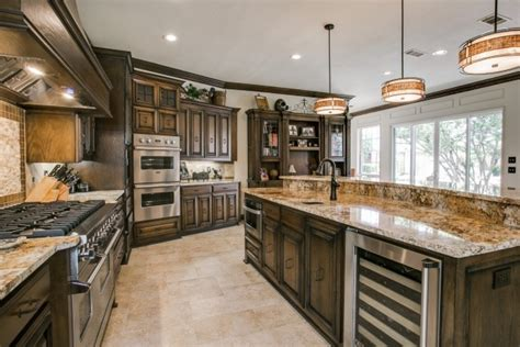 traditional kitchen remodel in plano dfw improved home