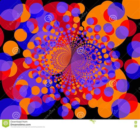 colorful round wallpaper fractal background round colorful shapes 2 royalty free
