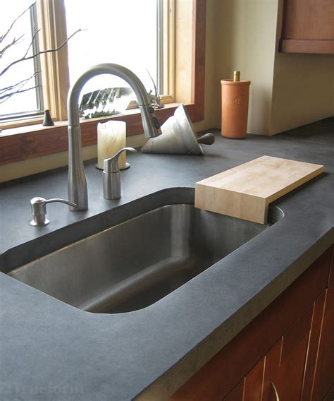 Kitchen Counter With Sink Glamorous Undermount Sink In Kitchen Contemporary With Undermount Sink In Laminate Countertop