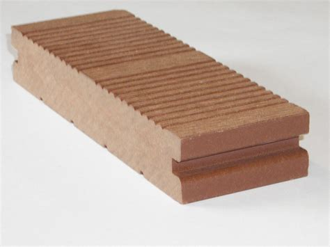 composite wood composite wood anti slip decking 2 sides