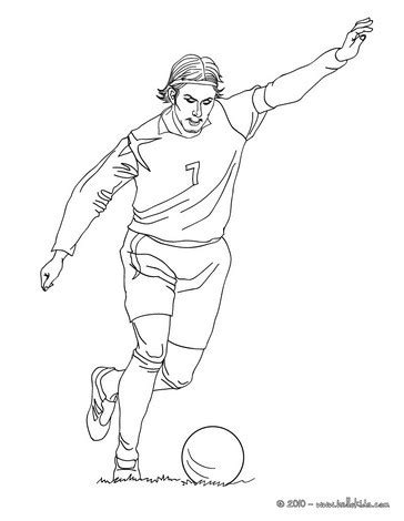 Topi Logo Pogba Neymar Juve Dybala Ozil Zlatan david beckham spielt fussball zum ausmalen zum ausmalen de hellokids