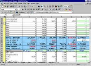 12 month budget template excel flow budgeting