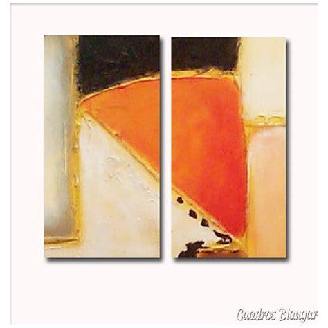 imagenes cuadros abstractos juveniles cuadro diptico abstracto moderno