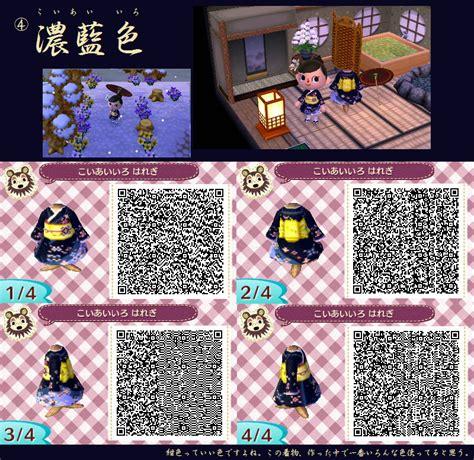 kimono pattern animal crossing animal crossing new leaf design qr code kimono nintendo