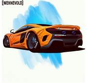 675lt Rocket Bunny Drawing By AH Wennevold Norway
