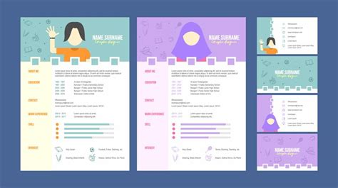 Free Graphic Design Resume Template by Graphic Designer Resume Template Vector Free