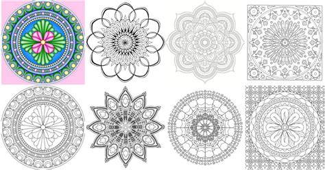 free printable mandala coloring pages for adults 15 amazingly relaxing free printable mandala coloring