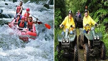 bali double activties  packages bali combo adventure