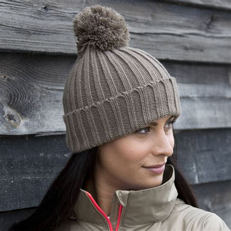 bobble knit hat knitted bobble hat by lilly notonthehighstreet