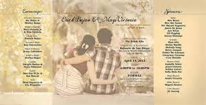 do it yourself wedding invitations philippines m e wedding invitation on behance