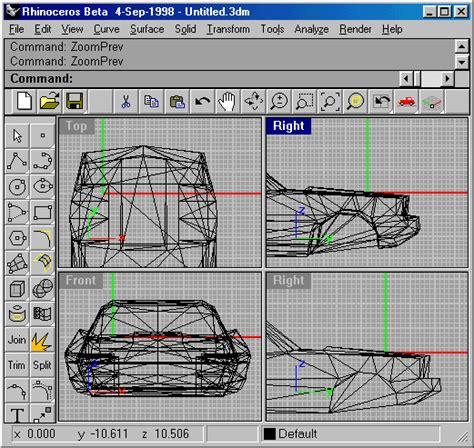Rhinoceros Software 3d Modeling 1 mtmg binedit