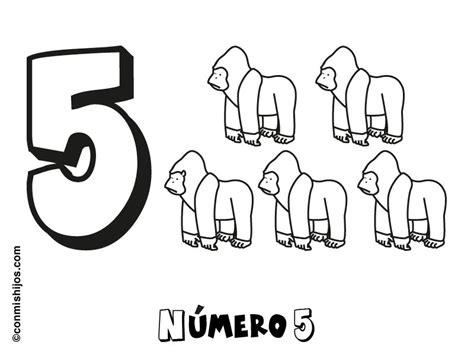 dibujo con el n mero 8 para pintar dibujos de n meros imprimir n 250 mero 5 dibujos para colorear