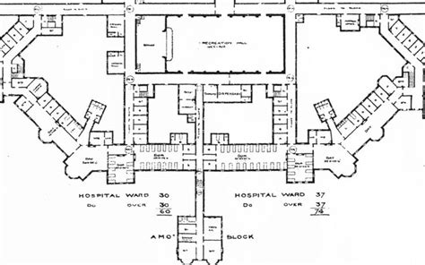 mental hospital floor plan floor plan of hellingly mental hospital hellingly hospital pinterest
