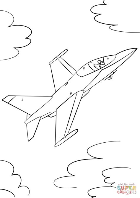 military jets coloring pages military fighter jet coloring page free printable