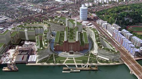 New Apple Headquarters by Battersea Power Station Designs E Architect