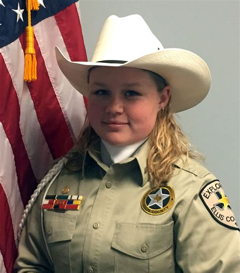 ecso explorer sgt shelby snodgress accepted into national