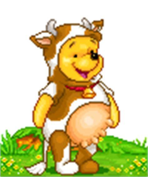 imagenes de winnie pooh gif gif winnie disfrazado de vaquita gifs e im 225 genes animadas