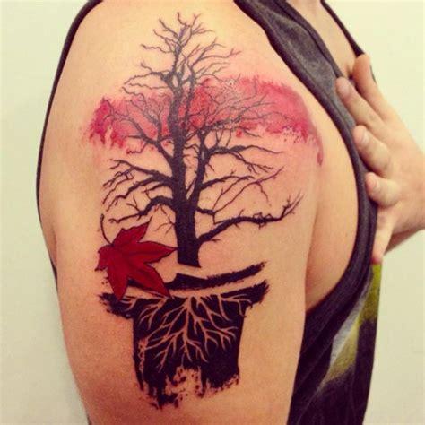 maple tree tattoo 25 best ideas about maple tree tattoos on
