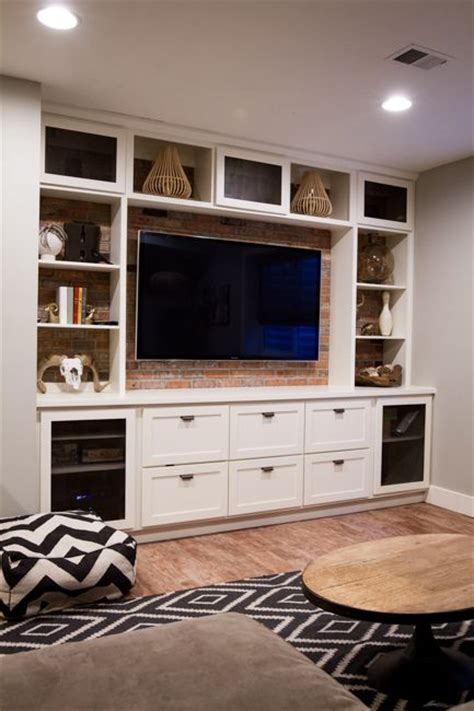 25 best ideas about basement entertainment center on