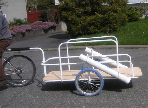 bike trailer cargo bike trailer for style by modernstork
