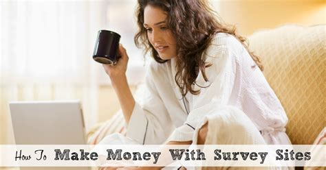 Survey Sites To Make Money - how to make money with survey sites moms need to know
