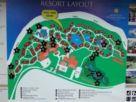 hotel spa layout resort layout picture of meritus pelangi beach resort